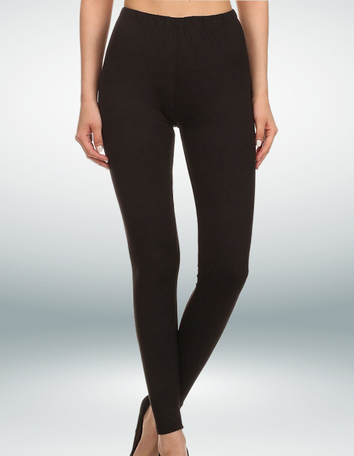 Black Yoga Band Leggings