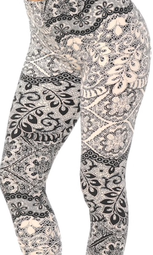 Enchanted Lace Plus Leggings
