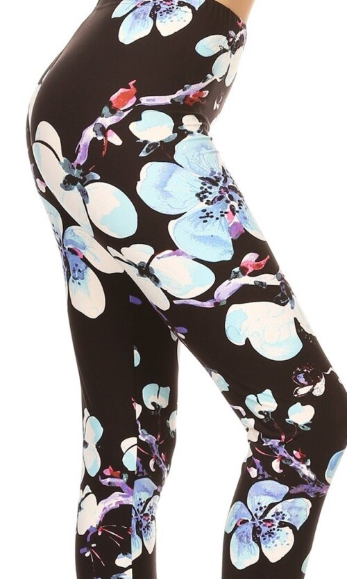 Bold Orchid Plus Leggings